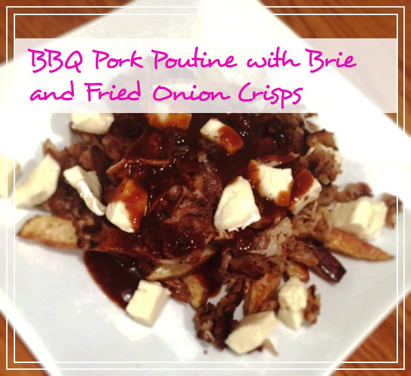 Recipe for BBQ Pork Poutine