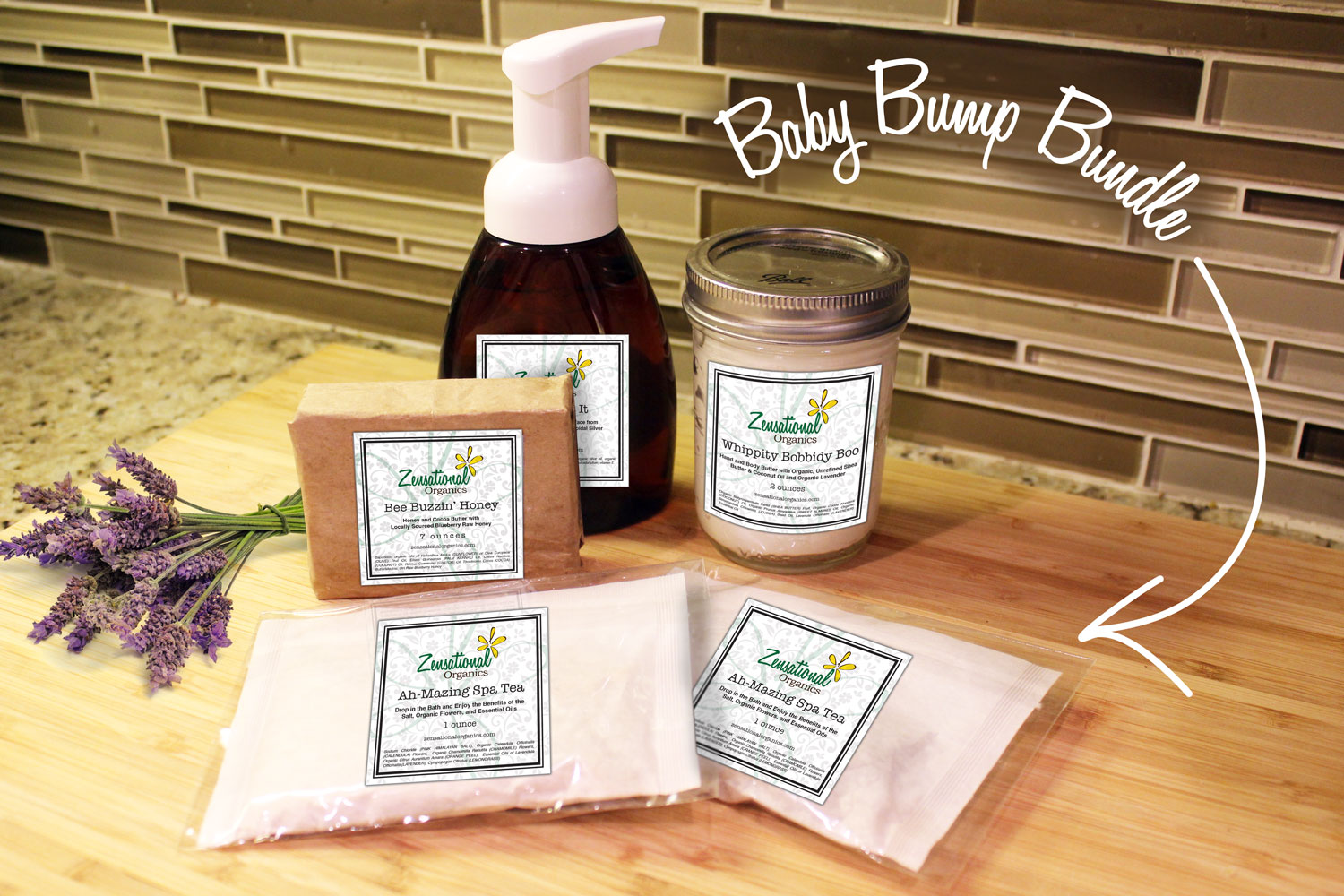 Zensational Organics' Baby Bump Bundle | Bottles & Banter