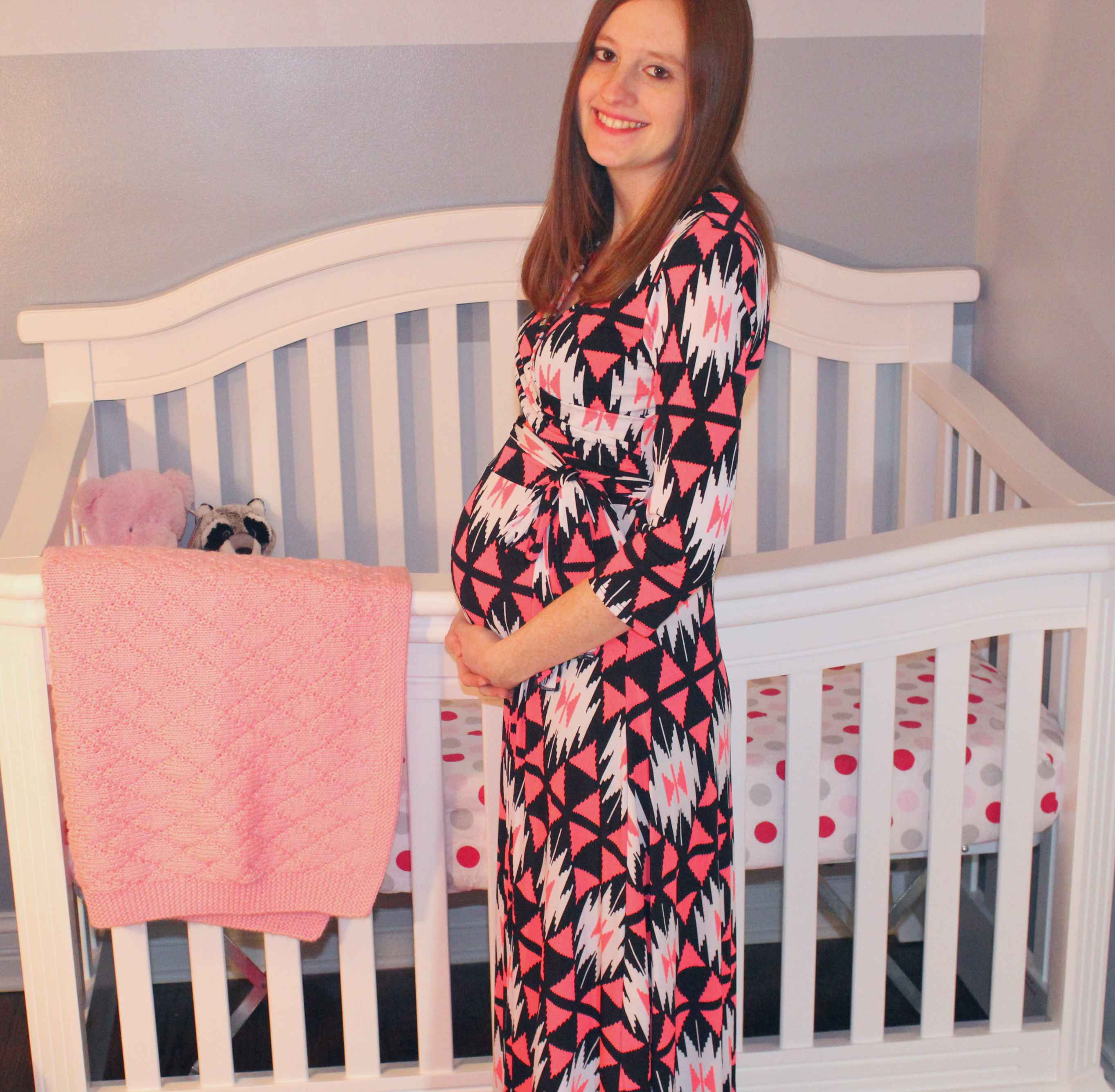 121604100ed50 PinkBlush Maternity: Review & Giveaway | Bottles & Banter. PinkBlush  Maternity Maxi Dress
