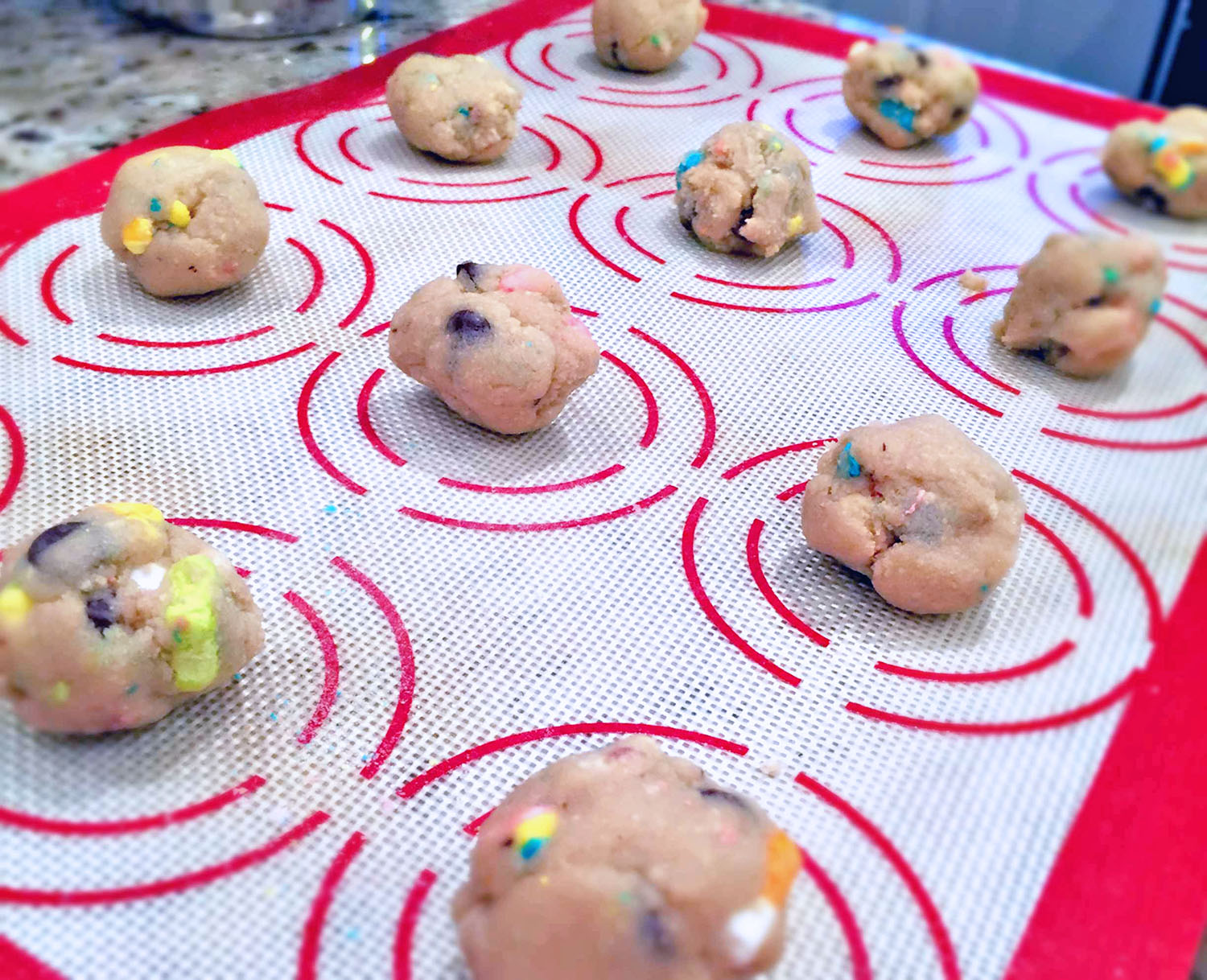 Lucky Charms Cookie Recipe | Bottles & Banter