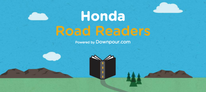 Revamp the Road Trip: Honda Road Readers