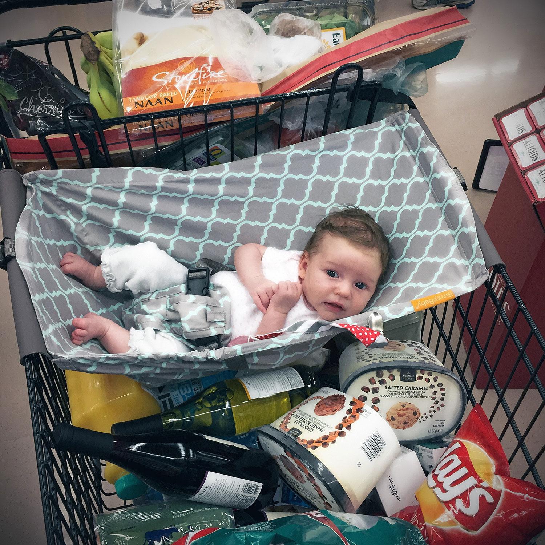 binxy baby shopping cart hammock   bottles  u0026 banter binxy baby  make shopping great again   bottles and banter  rh   bottlesandbanter