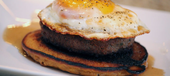 Savory Pancake Breakfast Stacks