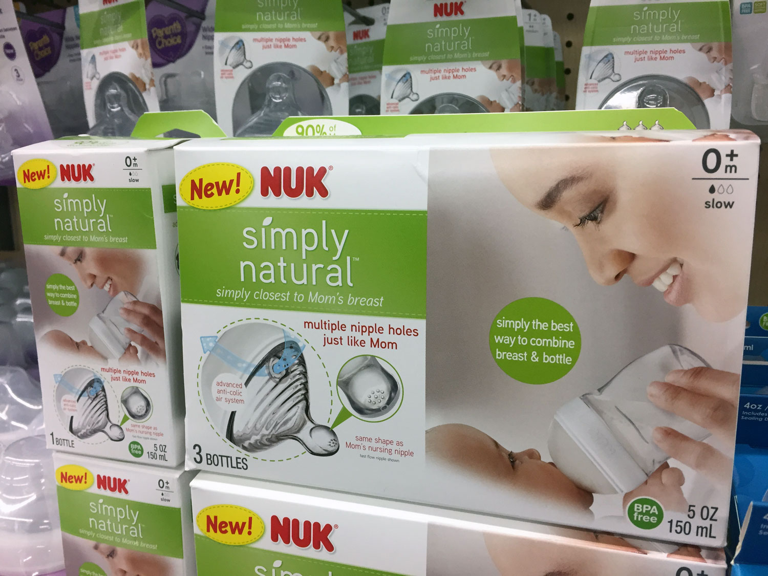 Choosing A Baby Bottle: NUK Simply Natural Review | Bottles & Banter