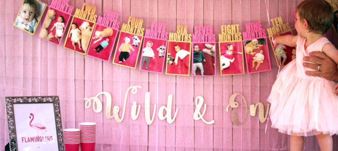 Flamingo Theme: A First Birthday Party