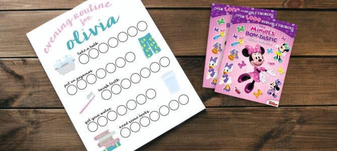 Bedtime Routine for a 2 Year Old: Our Routine Chart