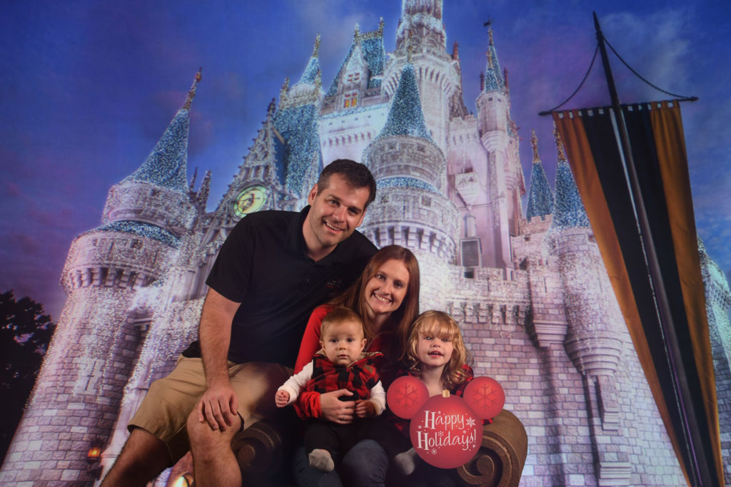 Disney World Packing List | Our family at Magic Kingdom!