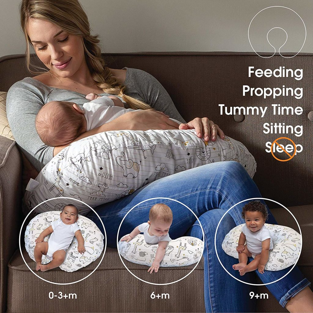 The Boppy Breastfeeding Pillow