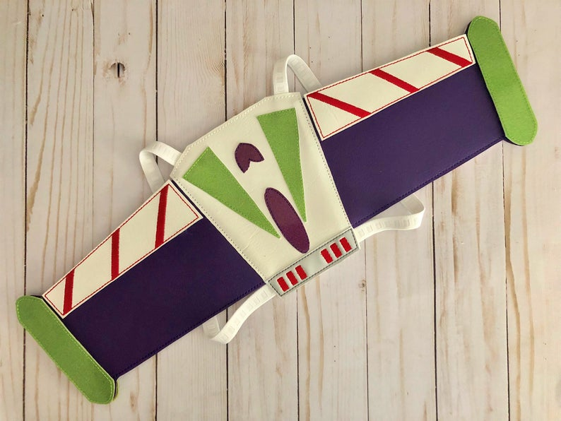 A pair of Buzz Lightyear wings