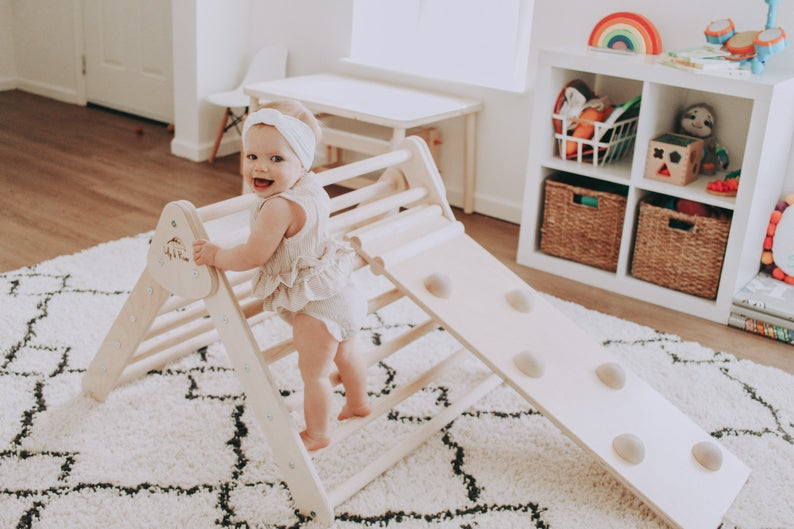 Indoor Climber Triangle by Lily & River | Gifts for Toddlers who have everything